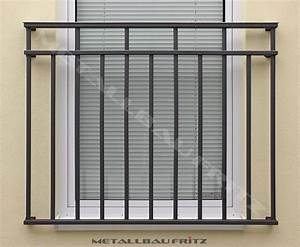 Franzosischer balkon 60 12 metallbau fritz for Französischer balkon mit bilder gartenzaun