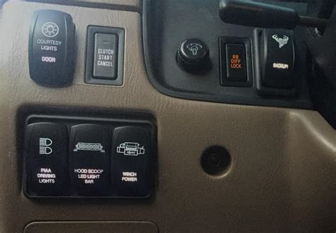 How Can Wire The Dash Dim Switch Aux Lights Page