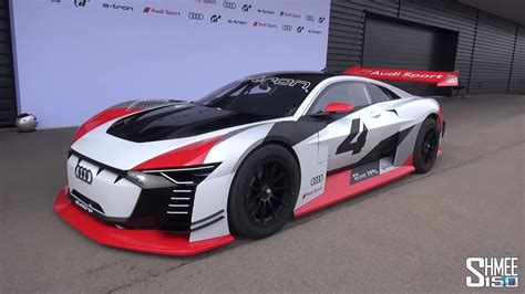 Shmee Drives The Audi E-tron Vision Gran