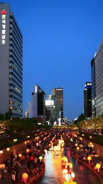 Seoul Korea South Wallpapers Wallpaperbro Night Asia