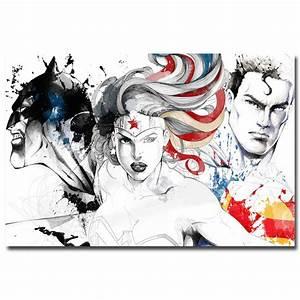J1660 Batman VS Superman Movie Wonder Woman Pop 14x21 ...