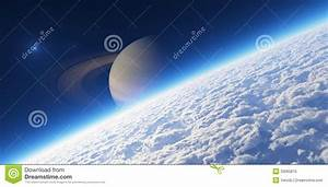 Atmosphere. Elements Of This Image Furnished By NASA ...