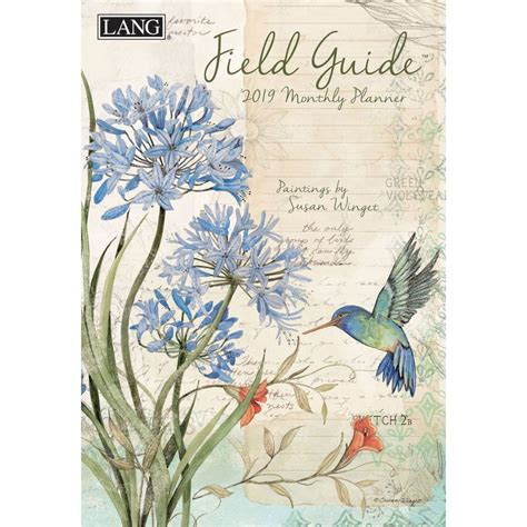 field guide monthly planner