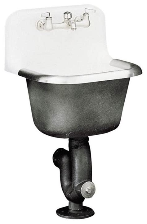 Kohler Utility Sink Faucet by Kohler K 6714 0 Bannon Service Sink With Guard And