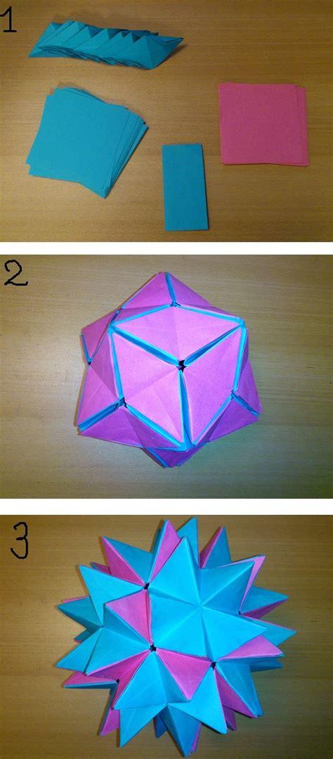 Origami: Spike Ball - Tutorial com voz PT BR | Origami tutorial ... | 1079x474