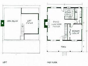 Simple Small House Floor Plans Small Cabin Floor Plans