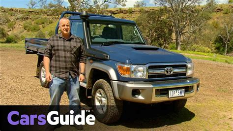 The toyota landcruiser 70 ute stands out with its rugged design and power. Toyota LandCruiser 70 Series 2016 review | first drive ...