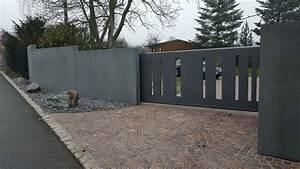 Zaun Aus Beton : zaun toranlagen betonstein ~ A.2002-acura-tl-radio.info Haus und Dekorationen