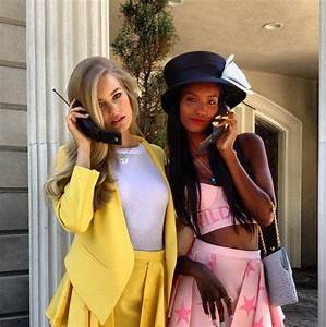 Olivia Greenfield and Fatima Siad as Cher and Dionne from ...