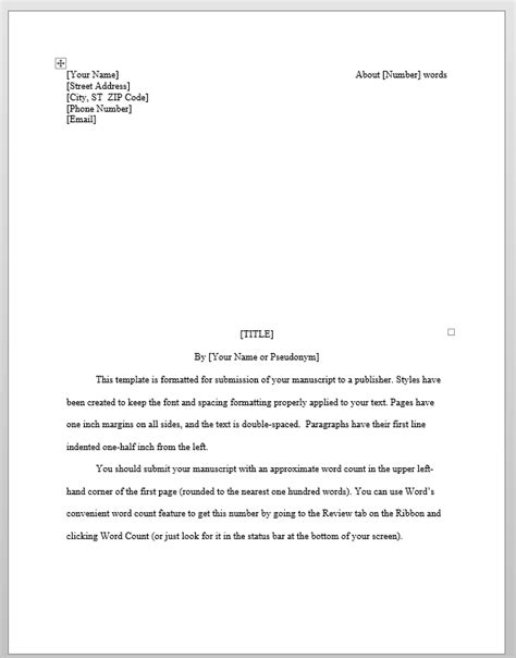microsoft word book manuscript template evaluating predefined manuscript templates in word s k dunstall