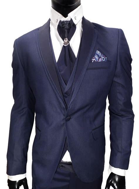 Vīriešu Kāzu Uzvalks (Suit-Electric Blue 1603) - Phenomen