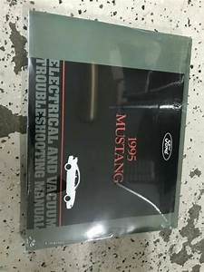1995 Ford Mustang Wiring Electrical Diagram Manual New