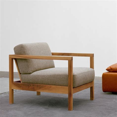 nordic leisure chair modern minimalist wood frame single