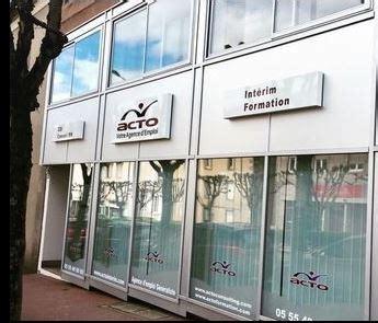 Cabinet De Recrutement Limoges by Acto Interim Agence D Int 233 25 Avenue Des B 233 N 233 Dictins