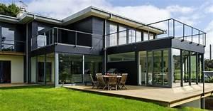 Dimension Baie Coulissante 2 Vantaux : baie vitr e coulissante aluminium grandes dimensions par sepalumic ~ Melissatoandfro.com Idées de Décoration