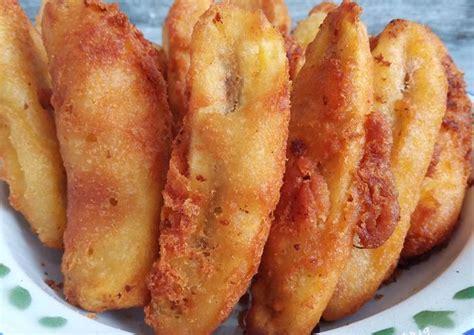"""Selain dimakan langsung, pisang juga bisa dibuat menjadi olahan makanan yang nikmat. Resep Pisang Goreng Madu Kriuk Renyah oleh Dina """"Ummu Khal Kitchen"""" - Cookpad"""