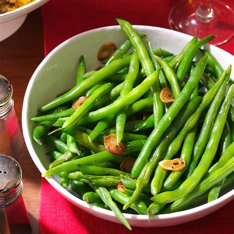 recipes using fresh fresh green beans garlic recipe taste of home