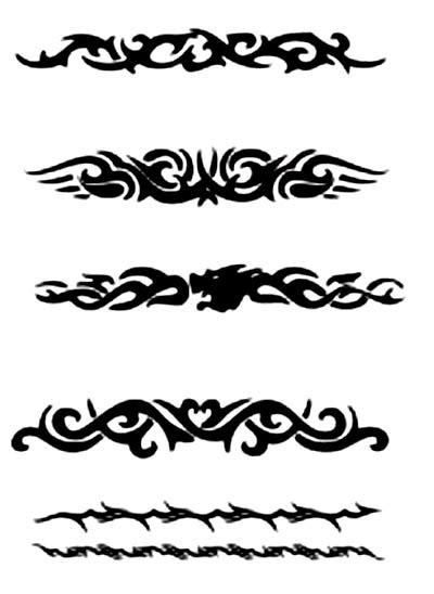 Tattoo designs armband, koi fish and lotus flower tattoo