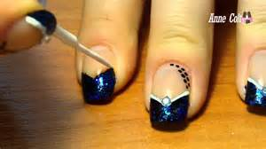 Image of: Dark Blue Nail Tip Design Www Imgkid Image Kid Blue Nail Designs To Beauty Your Nails