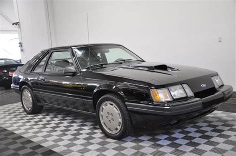 books about how cars work 1985 ford mustang engine control 1985 ford mustang svo black grey leather 5 speed manual books only 8800 miles classic ford