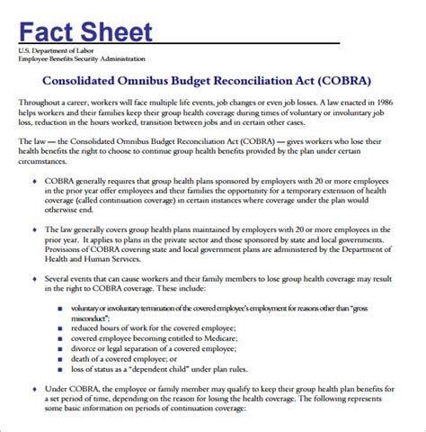 fact sheet template   documents   word