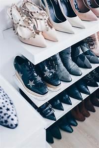 Schuhe Aufbewahren Ideen : meine schuhwand im ankleideraum einrichtung pinterest ankleidezimmer ankleideraum und ~ Markanthonyermac.com Haus und Dekorationen