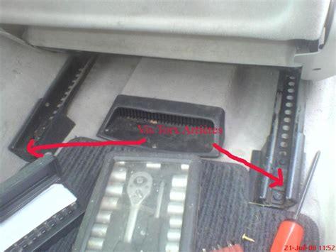 changer un siege de voiture réparation fil capteur présence siège passager w210 photo
