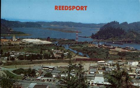 aerial view reedsport