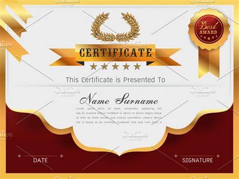E Certificate Templates by Graceful Certificate Template Card Templates Creative