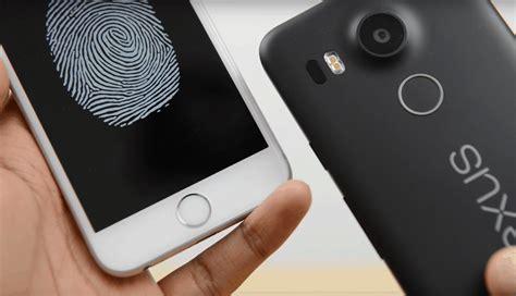 iphone fingerprint scanner cult of android nexus 5x fingerprint scanner even faster