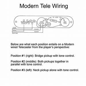 71 Tele Wiring Diagram