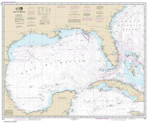 themapstore noaa charts florida  gulf  mexico