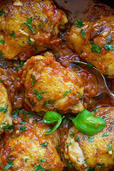 italian braised chicken recipe  crafts  recipes