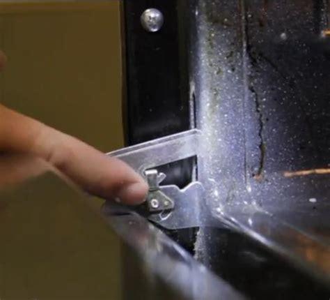 remove  cooker oven door