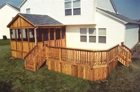 menards deck building plans 14 x 14 screen room with deck building plans only at