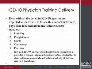 ppt icd 10 documentation training what your physicians With icd 10 physician documentation