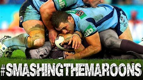 Queensland Memes - state of origin smashing the maroons state of origin meme
