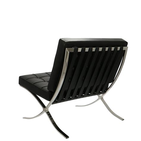 Which one do you choose? Barcelona chair black   Popfurniture.com