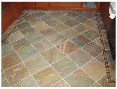 slate floor tile   diamond pattern   Kitchen   Pinterest