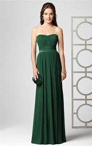 green prom dresses dressed up girl With dark green wedding dress