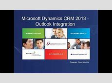 Integration Microsoft Outlook Dynamics Crm 1