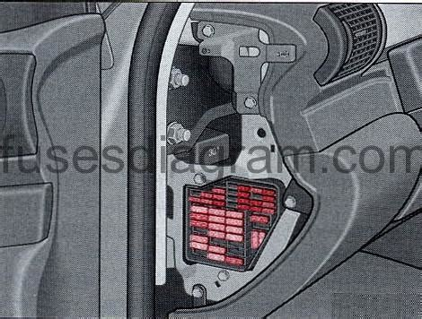 How To Open Audi Fuse Box by Fuse Box Audi A4 B5