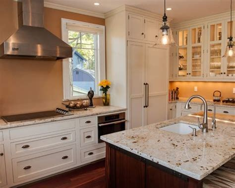 Colonial Cream Granite Countertop Home Design Ideas