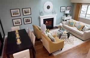 Rectangular, Living, Room, Layout