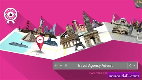 Travel Agency Advert Videohive Free Download After Effects Template travel agency advert after effects project videohive