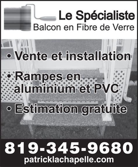 le sp 233 cialiste balcon fibre de verre ascot corner qc 4716 route 112 canpages fr