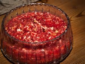 fresh cranberry salad recipe cas thanksgiving and we