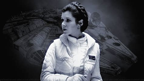 Carrie Fisher Princess Leia Xli By Dave Daring On Deviantart