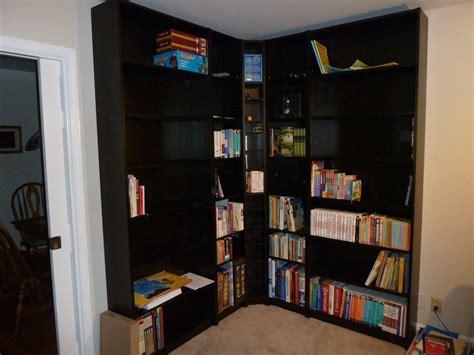 Bookshelf Interesting Design Corner Bookshelf Corner