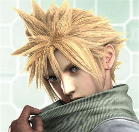 cloud strife hairstyle cool mens hair